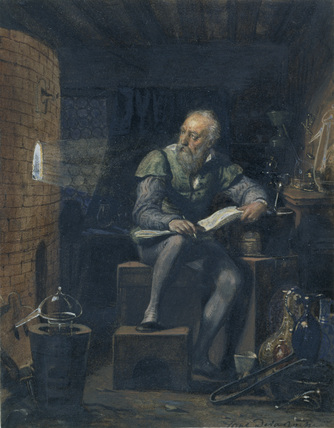 Palissy in his Workshop