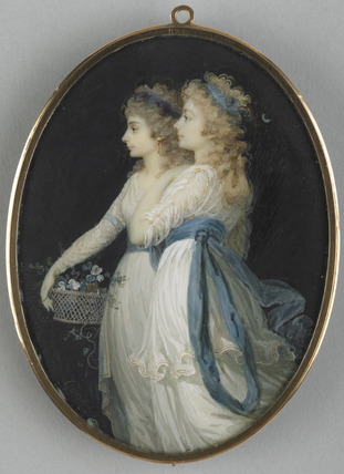 Georgiana, Duchess of Devonshire, and Lady Elisabeth Foster