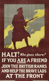 'Halt! Who goes there?', 1915