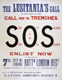 The Lusitania's Call', 1915 (c)
