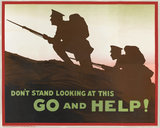 'Don't Stand Looking at This Go and Help!', 1915