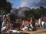 The Death of Colonel Moorhouse at the Storming of the Pettah Gate of Bangalore, 7 March 1791
