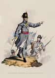 Infantry Officer in Marching Order, 1812