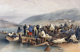 Embarkation of the Sick at Balaklava, 1854-1855