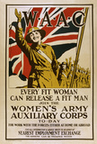 'W.A.A.C. Every Fit Woman Can Release a Fit Man', 1918 (c)