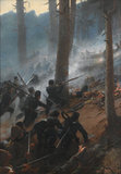 The attack on the Peiwar Kotal, Afghanistan, 1878