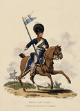 Royal Artillery Mounted Rocket Corps, 1812