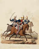 Light Dragoons serving in the East Indies, 1812