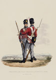 Privates of the 1st Regiment of Foot Guards on Service, 1812