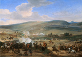 The Battle of the Boyne, 12 July 1690