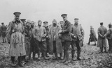 'A friendly chat with the enemy', Christmas Truce, 1914