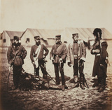 Lieutenant-Colonel William Munro and Officers of the 39th (Dorsetshire) Regiment of Foot, 1855