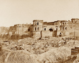 The Munchee Bau or old Citadel of Lucknow, 1858