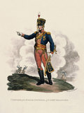 Uniform of a Major General of Light Dragoons, 1812
