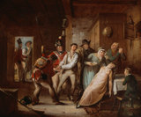 The Deserter Apprehended, 1815 (c)