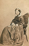 Florence Nightingale, 1860 (c).
