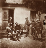Major-General Estcourt and Staff, 1855