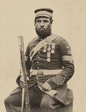 Colour-Sergeant J Stanton, Royal Sappers and Miners, 1856