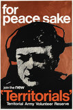 'for peace sake - join the new 'Territorials', 1967 (c)