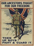 'Our Ancestors Fought For Our Freedom', 1914 (c)