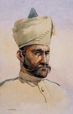 A Malikdin Khel (Afridi) of the 40th Pathans, 1908 (c)