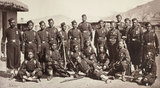 4th Goorkha Regiment bayonet team, 1878-1880 (c)
