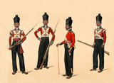 Members of the 40th Madras Native Infantry, 1835 (c)