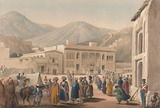 'The Durbar-Khaneh of Shah Shoojah-ool-Moolk, at Cabaul', 1840 (c)