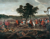 The Battle of Malplaquet, 11 September 1709