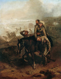 Lieutenant William Cubitt winning the VC, June 1857