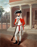 Lieutenant George Belson, Corps of Marines, 1780 (c)