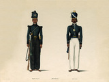 Madras Rifle Corps and Madras Pioneers, 1835 (c)