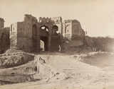 The Bala Hissar Gate, Kabul, 1879