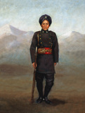 A soldier of the 1st Chinese Regiment, 1900