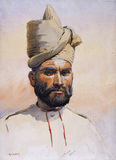 A Malikdin Khel Afridi of the 26th Punjabis, 1908 (c)