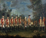 25th Regiment of Foot, Menorca, 1771 (c)