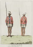 Sepoys of the 3rd Battalion at Bombay, 1773