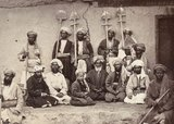 Landholders and labourers of Kabul, 1879.
