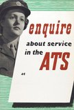 'enquire about service in the ATS at', 1940 (c)