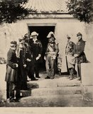 Group at Headquarters, 1855