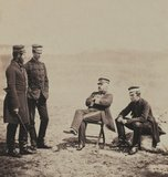 Lieutenant-General Barnard and Staff, 1855