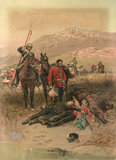 'Last Sleep of the Brave', Isandlwana, Zulu War, 1879
