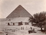 'Great Pyramid, Cairo, Lincolnshire Regiment', 1898