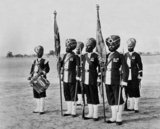 Colour Party, 45th (Rattray's Sikh) Regiment of Bengal Infantry, 1897 (c)