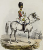 1st Life Guards, Trumpeter, 1828