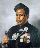 Jemadar Jangia Thapa, 5th Gurkha Regiment, 1890