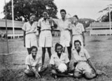 The West Indies Auxiliary Territorial Service net ball team, 1943 (c)-1947