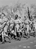 Empire Day Parade in Cairo, 1943