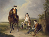 Marquess of Granby relieving a sick soldier, 1765 (c)
