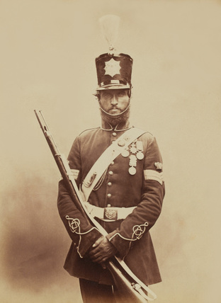 Colour-Sergeant John Paul, Royal Sappers and Miners, 1856